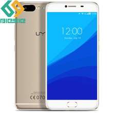 UMI Z MTK Helio X27 Global First Launch Front Touch ID Cell Phone Softlight LED Front Camera 4GB RAM Dual Nano Card Mobile Phone(China (Mainland))