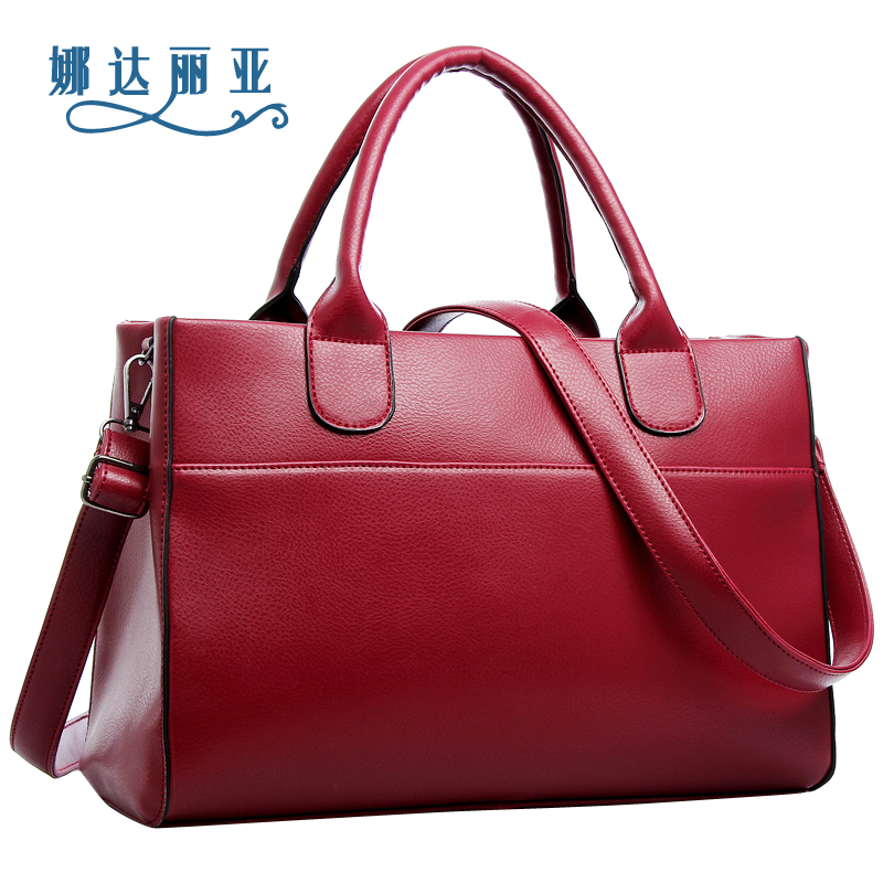 Simple LEATHER LAPTOP TROLLEY / WHEELED BUSINESS BAG - WOMENS BUSINESS BAGS - WOMEN