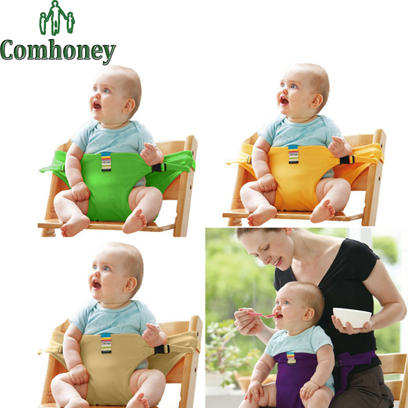 Baby Feeding Chair Portable Infant Baby Booster Seats Toddlers Children Feeding Dining Chair Safety Belt Folding Cadeira De Bebe(China (Mainland))