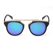 cat eye sunglasses men women vintage sunglasses blue color new arrival oculos escuro gafas oculos de