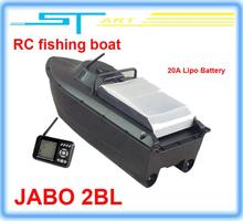 JABO 2BL Remote Control Bait Boat Fish Finder upgade JABO 2BS 20A Lipo Battery Newest Eiditon Jabo Recreational Remote Boats(China (Mainland))