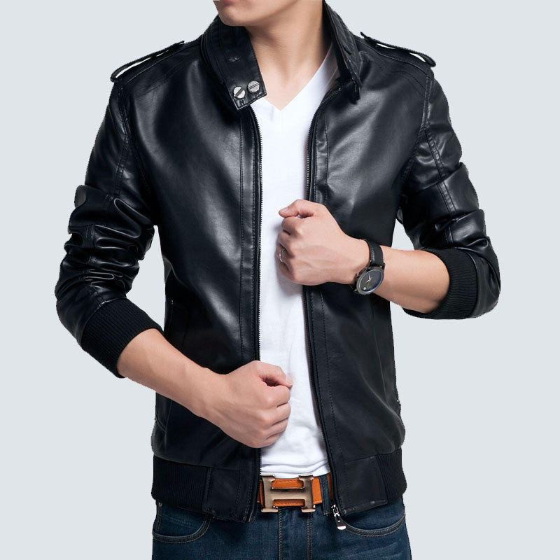 Cheap mens slim leather jacket – Modern fashion jacket photo blog