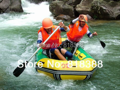 0.9 inflatables thickening laminated ship inflatable boat drifting boat fishing boat drawing of lifeboat(China (Mainland))