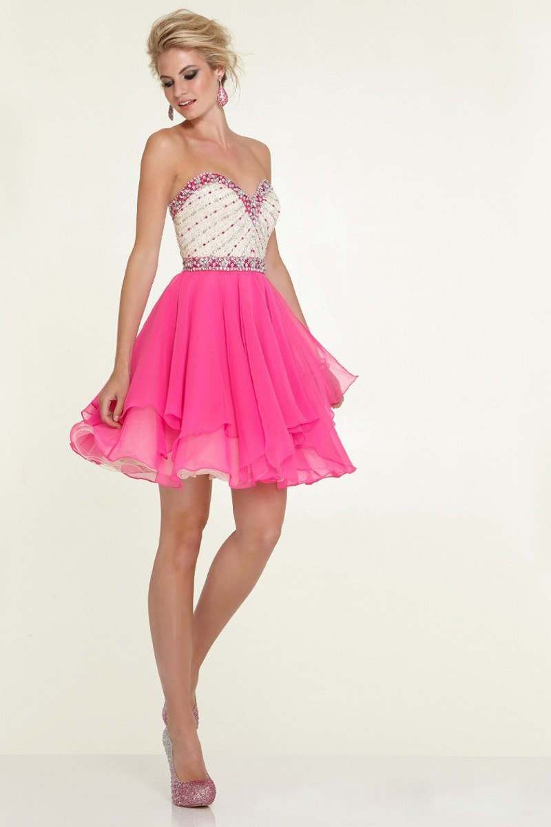 New Arrival Short Crystal Homecoming Dresses Sexy Mini ...