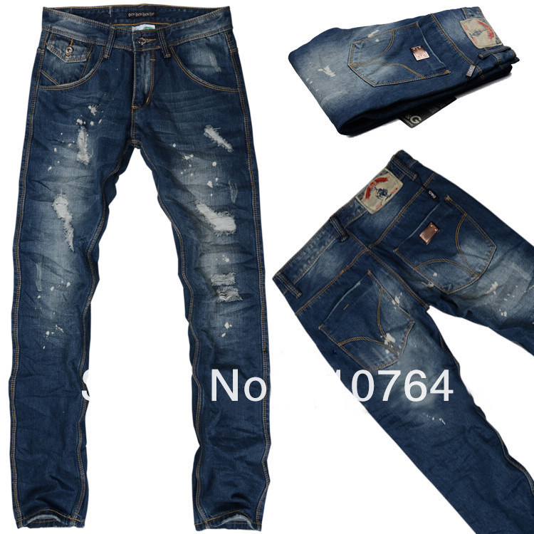 jeans with designs for men - Jean Yu Beauty