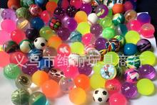 100pcs/lot 25mm multi-color bouncy rubber balls, football/rubber ball/transparent ball,boys favorate randomly send(China (Mainland))