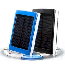power bank Waterproof Real 20000mah solar power bank dual usb external battery solar charger powerbank for iphone/samsung/HTC(China (Mainland))