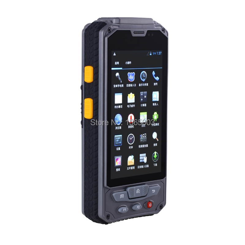 Handheld PDA Android 4.2 with 2D barcode scanner / 860-960Mhz RFID reader(read distance is 1-3M)(China (Mainland))