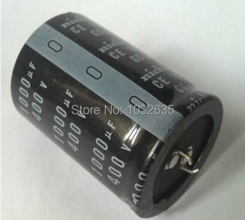 Free hipping Aluminum electrolytic capacitor 400V 1000UF 35*50 Integrated circuit The new and original import capacitor(China (Mainland))