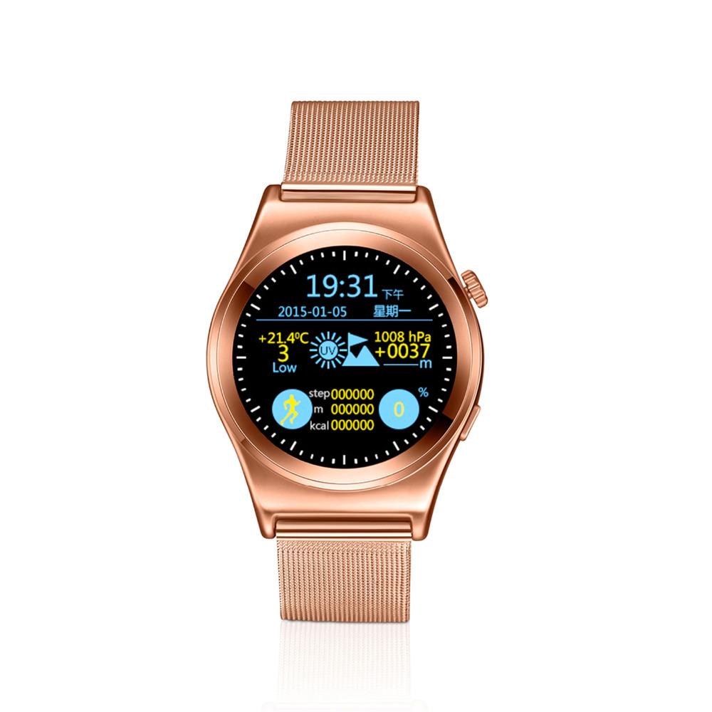HD Full Roud Bluetooth Smart Watches X10 Heart Rate Monitor Smartwatch for Android ISO Samsung Phone Smart Clock Wearable Device(China (Mainland))
