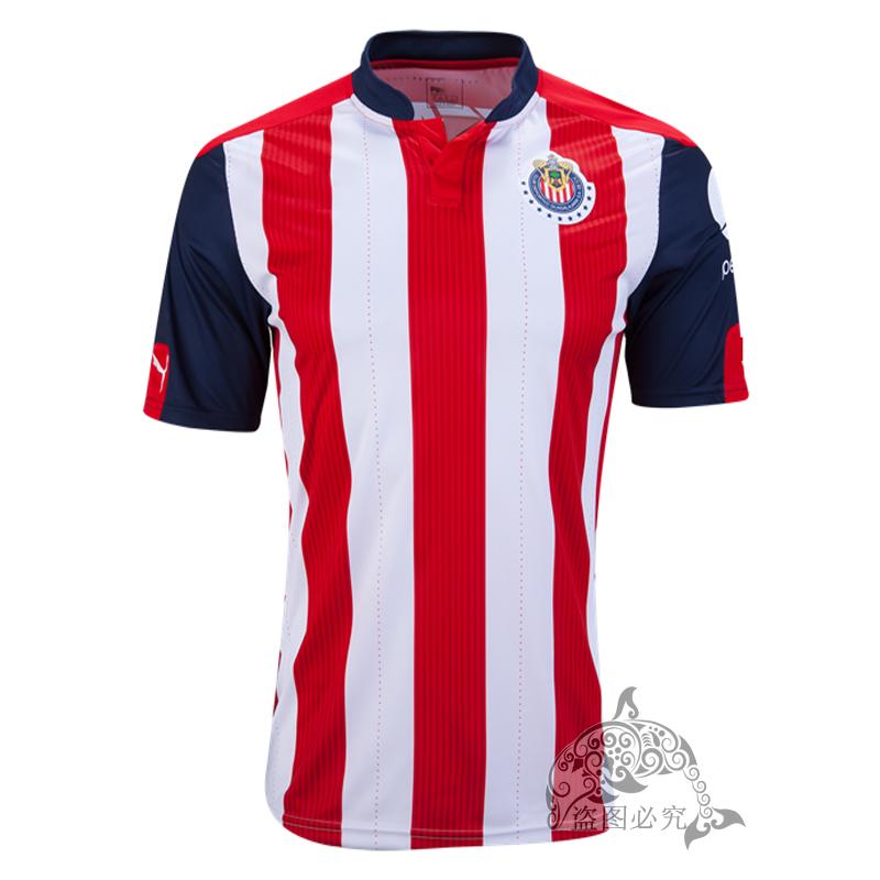 2016 new Mexico's Club Soccer Jersey Chivas Guadalajara 16/17 camisetas de futbo O.BRAVO REYNA DE NIGRIS ARCE football Shirts(China (Mainland))