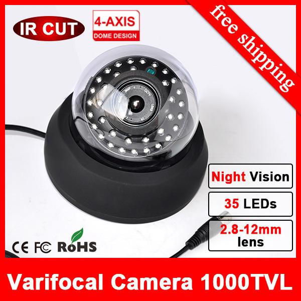 35IR infrared HD Dome CCTV Camera wtaerproof Day Night vision 960H Security video surveillance thermal cctv cameras INDOOR(China (Mainland))