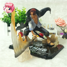 Anime figures ZERO One Piece Shanks Action Figure Anime Cartoon Collectible Model Toy 19CM