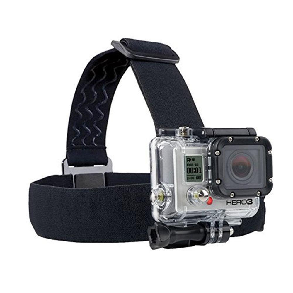 Gopro Accessories Elastic Adjustable Camera Head Strap Mount Belt SJ4000 Hero 2 3 3+ 4 xiaomi yi AEE - Shenzhen Koston Technology Co., Ltd. store