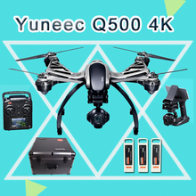 Yuneec Typhoon Q500 4K ST10 Radio 5.8G 10CH Handheld Gimbal Drone with Camera RC Quadcopter Double Original Battery and Case