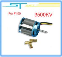 Free shipping 2014 hot DJI RC hobbies 3500kv brushless High Speed Electric mortor for F450 FPV quadcopter motor boy gift