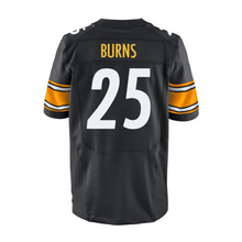 Men's #25 Artie Burns #43 Troy Polamalu #7 Ben Roethlisberger #26 Bell White Black Elite 100% Stitched Logos(China (Mainland))