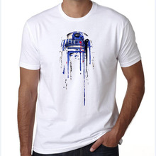 Buy mens t shirts fashion 2016 Empire Star Wars Short Sleeve Yoda/Darth Vader r2d2 Cartoon Cool Storm Trooper Tee Shirt for $8.70 in AliExpress store