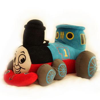 Free shipping 25cm special creative cartoon anime Thomas train plush doll hold pillow stuffed toy novelty birthday gift 1 pc