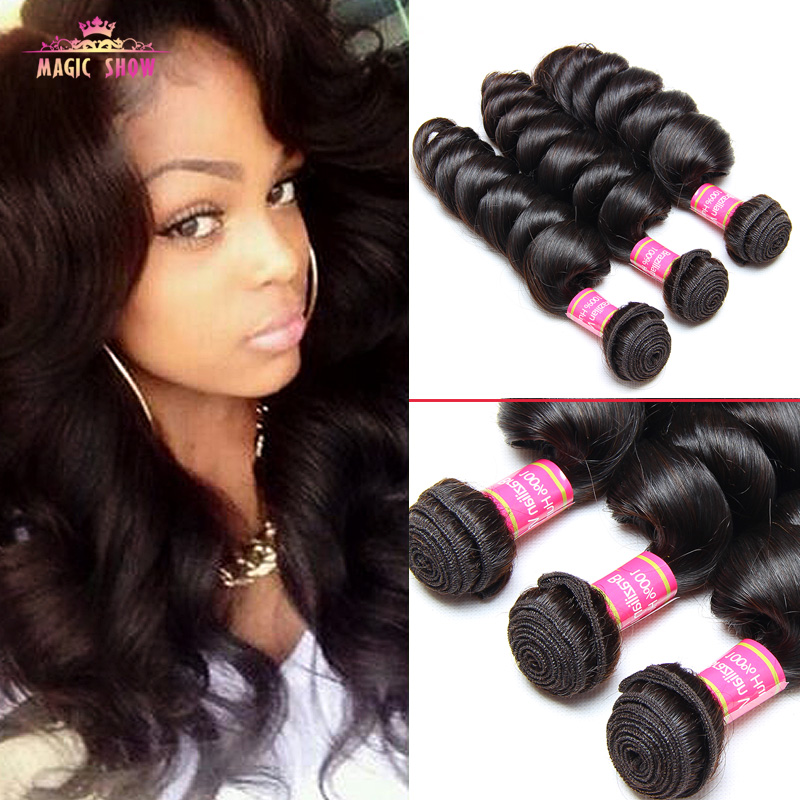 Brazilian virgin hair loose wave 3pcs/lot, natural color,100% unprocessed brazilian virgin hair,Cheap Brazilian loose wave<br><br>Aliexpress