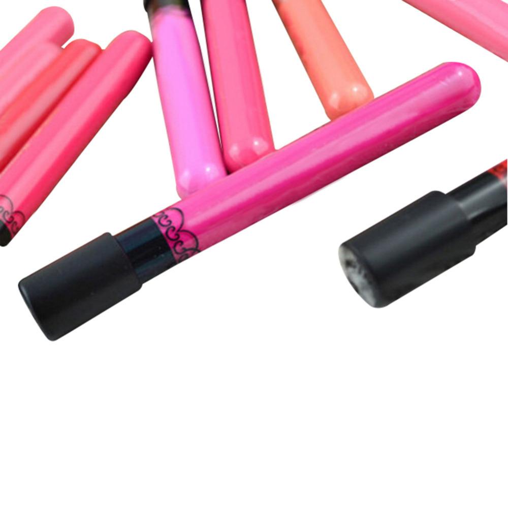 36 Colors Liquid Lipstick Makeup Lip Stick Waterproof Lips Pencil Lip Gloss Women Beauty Tool Makeup Accessories 12pcs/lot<br><br>Aliexpress