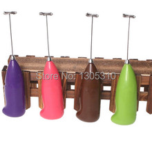 Free Shipping New Coffee Milk Drink Electric Whisk Mixer Frother Foamer Kitchen Egg Beater 7pJYY(China (Mainland))
