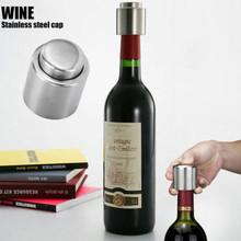 Edelstahl Vakuum versiegelt Rotwein Flaschenverschluss, Pumpe Innen-super einfach zu halten Ihre beste Wein frisch(China (Mainland))
