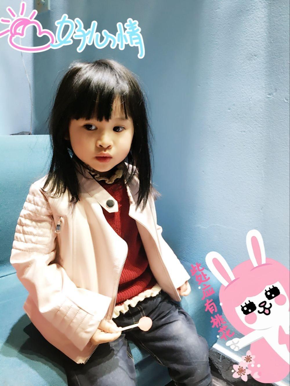 Скидки на Весна/осень девочка PU кожаная куртка девушки дети кожаная одежда верхняя одежда куртки