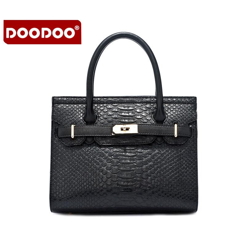 2017 new handbag snake pattern ladies shoulder Messenger bag(China (Mainland))