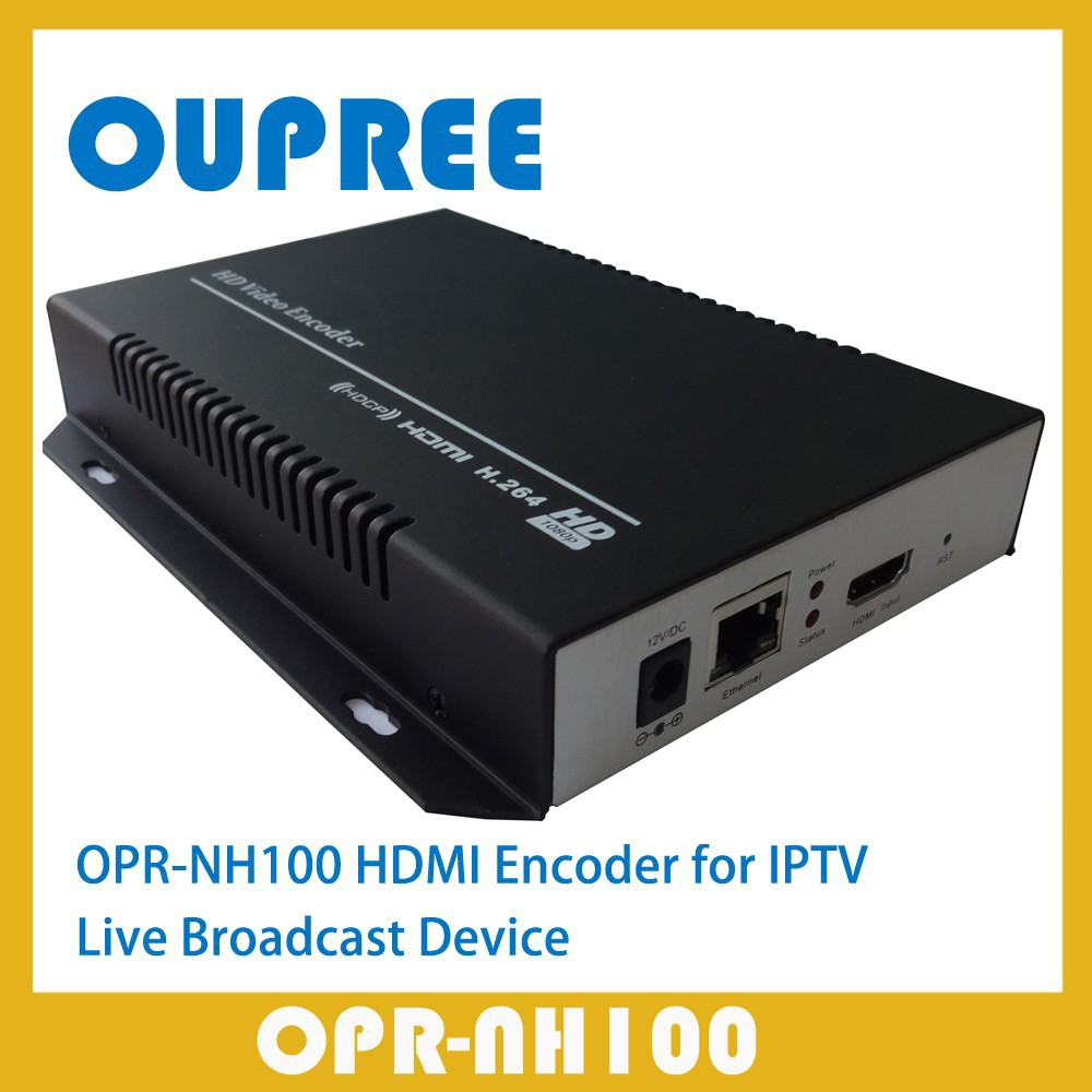 OPR-NH100 H.264 HD HDMI Encoder for IPTV, Live Stream Broadcast, HDMI Video Recording(China (Mainland))