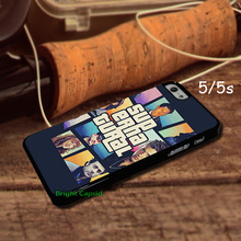 Cool Supernatural Gta Cell Phones Cover Case 5 5s 4 4s 5C i6 i6plus Cases 4s And 4 mobile pouch With One Gift