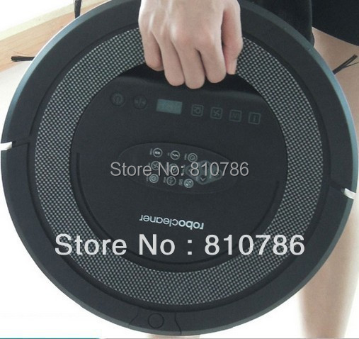 2015 New Coming Robotic Vacuum Cleaner ,With 5 Cleaning Algorithms,2800mah Battery ,Sonic-Wall,Auto Recharge,Remote Controller(China (Mainland))