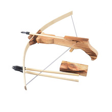 BS#S Safe Wooden Arrow Quiver Kid Child Weapon Cross Bow Toy Gun Archery Crossbow Good Quality Free Shipping