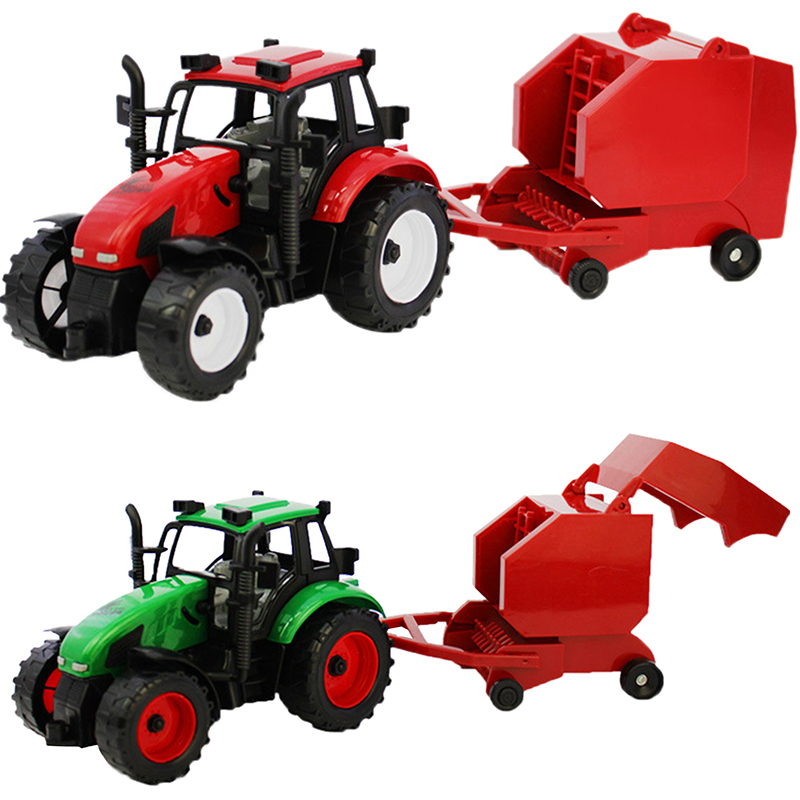 Happy Cherry Kids Children Farmer Using Tractor Truck Toys Set Gifts for Baby Boys Girls Model Cars Toy(China (Mainland))