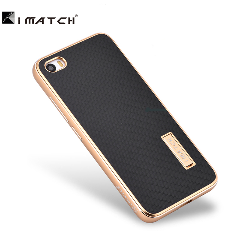 For Xiaomi 5,Premium Metal Aluminum Carbon Fiber Element Cover Case For Xiaomi 5 mi5 Phone Case(China (Mainland))