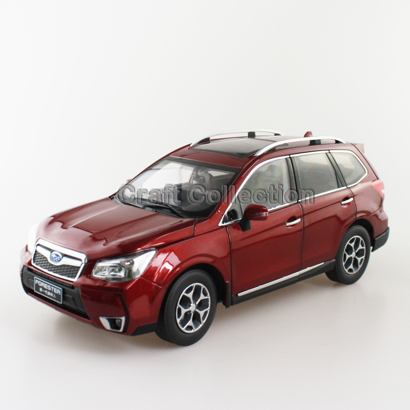 New Red 1/18 FORESTER 2015 Die-Cast Model Car Miniature Model SUV Off Road Vehicle Out of Print Model(China (Mainland))