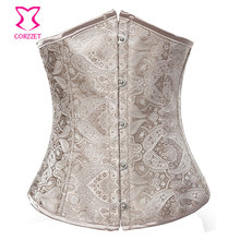 Sexy Corset Underbust Tight Lacing Waist Training Corsets and Bustiers Gothic Clothing Corpete Corselet Gotico Korsett For Women