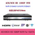 HD CCTV Mini NVR H 264 1 SATA HDD HDMI Onvif 4ch 8ch NVR 720P 1080P