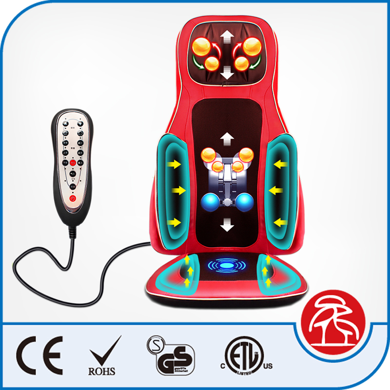 Latest Design 3D Airbag Massage Cushion Portable Massage Chair for sale