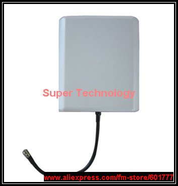 2pcs,9dbi gain 800-2500Mhz waterproof GSM CDMA WCDMA outdoor antenna PCS 1900Mhz booster antenna(China (Mainland))