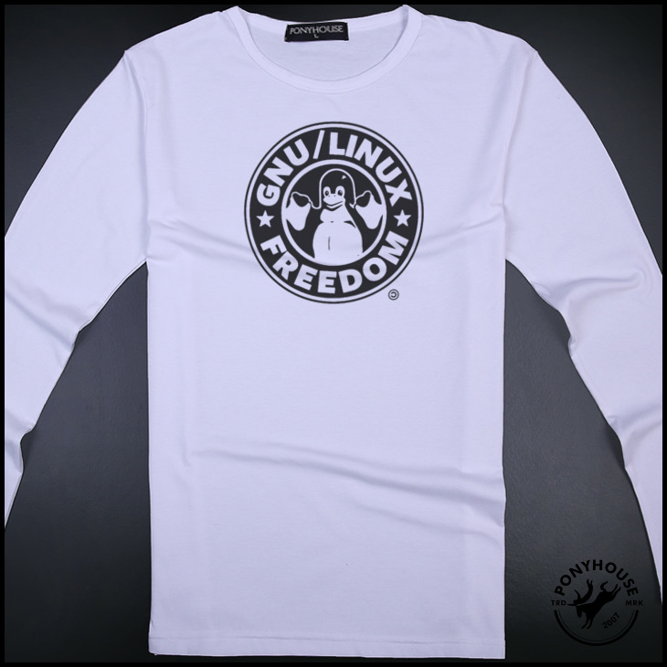 linux penguin shirt