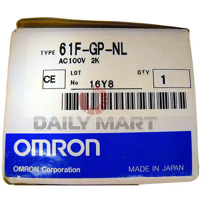 DHL/EMS New Omron Floatless Level Switch 61F-GP-NL 100VAC Relay Socketable(China (Mainland))