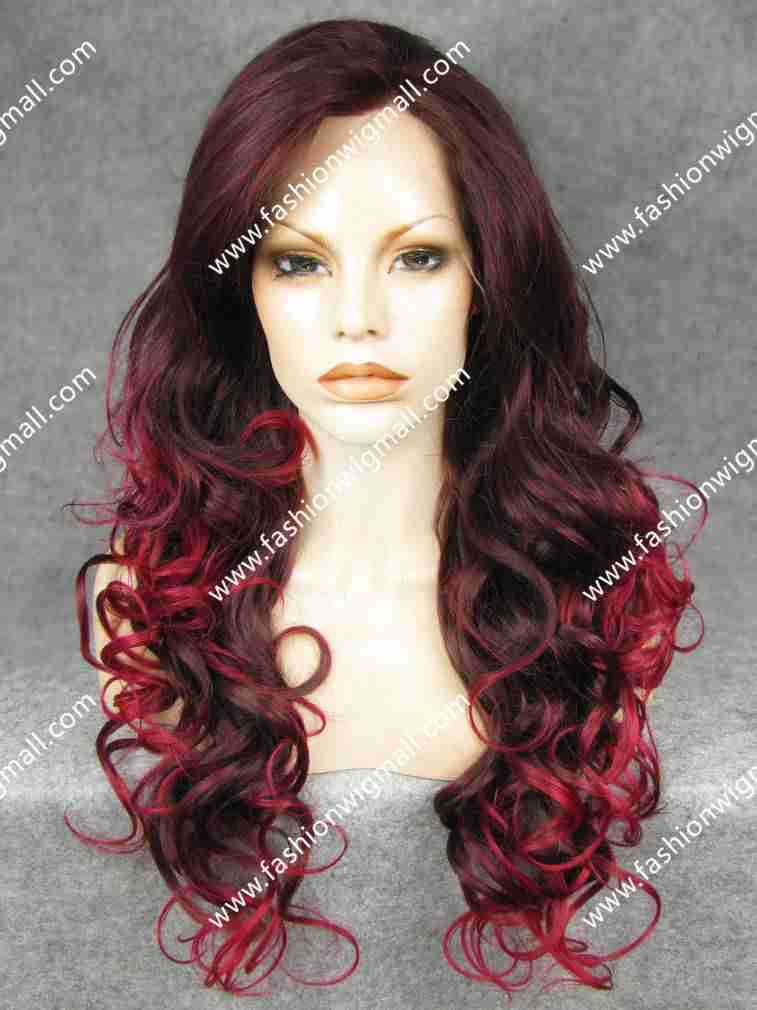 Brown Hair Red Tips Promotion-Shop for Promotional Brown Hair Red ...