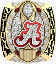 Buy Ready Made 2016 New Arrival NCAA 2015 Alabama Crimson Tide Football National Championship Ring Replica SABAN for $7.99 in AliExpress store
