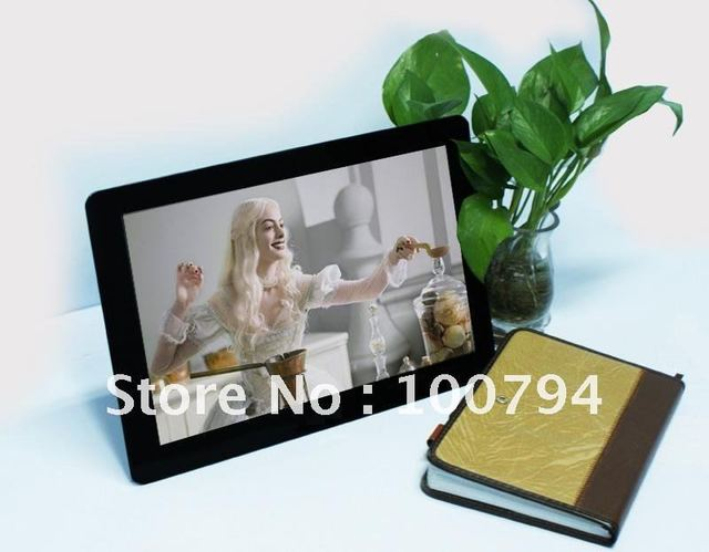 "Dropship  WIFI 13""digital photo frame Remote control support DHL/EMS/UPS"