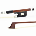 Top Level Natural Mongolia Horse Hair Pernambuco Cello Bow Pure SILVER Mounted Good Balance Wonderful String