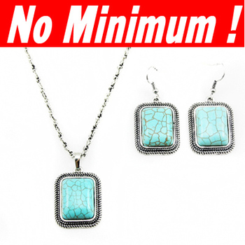 Silver Turquoise jewelry sets  (Necklace + Earrings) 2013 new vintage jewellery for women silver plated  nke-g62