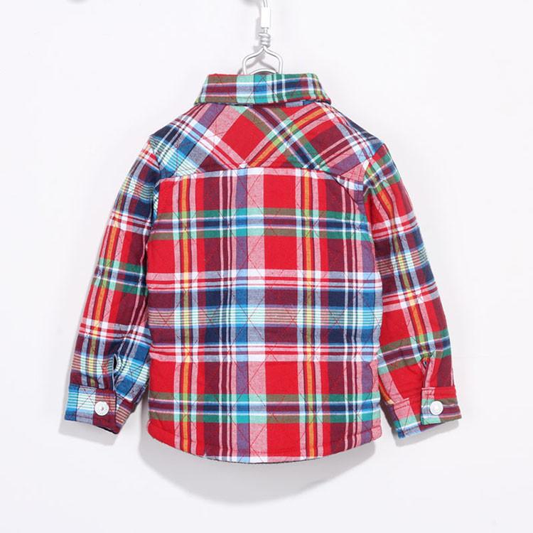 2014 Brand Boys Shirts Winter High Quality Children Blouse Beard Printing Long-sleeve Baby Girls Plaid Velour Shirt Tops Blusas