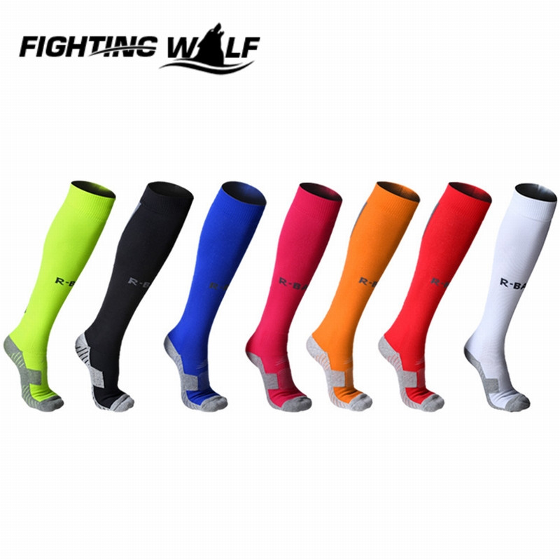 Professional Brand Unisex Winter Knee-high Socks Breathable MTB Cycling Road Bicycle Protect Foot Socks Football calcetines !(China (Mainland))