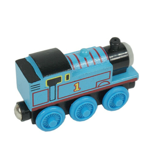 Wooden thomas and friends trains toys for children,kids thomas train model toy,1piece free shipping(China (Mainland))